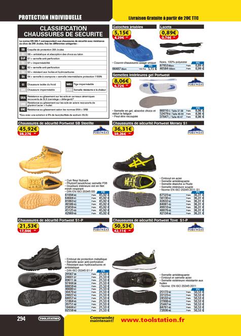 Chaussures de sécurité Achat en ligne Toolstation