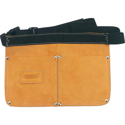 Draper Double poche en cuir  - 10130 - de Toolstation