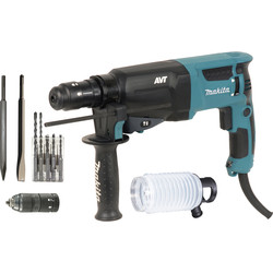 makita Perfo-burineur Makita HR2631FTX4 SDS Plus - 10761 - de Toolstation