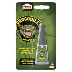 Colle instantanée SuperGlue Pattex Crocodile
