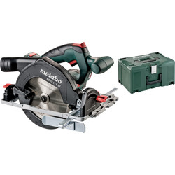 Metabo Scie circulaire portative sans fil Metabo KS 18 LTX 57 (machine seule) 18V Li-ion Ø165mm - 11042 - de Toolstation