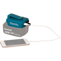 makita Chargeur de batterie Makita Li-Ion USB DEAADP05 - 11155 - de Toolstation