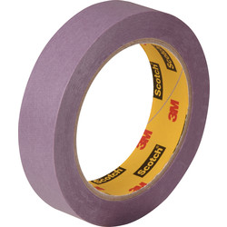3M Ruban de masquage surfaces fragiles 3M violet 24mm x 50m (2071) - 11400 - de Toolstation