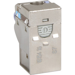 Schneider RJ45 s-one cat 6 blindée STP  - 12522 - de Toolstation
