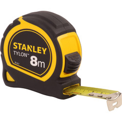 Stanley Mètre à ruban Stanley 8m 25mm - 14736 - de Toolstation