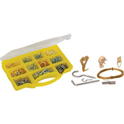 Coffret de crochets assortis  - 15775 - de Toolstation