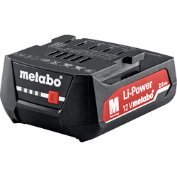 Metabo Batterie Metabo Li-ion 12V 2,0Ah - 18727 - de Toolstation