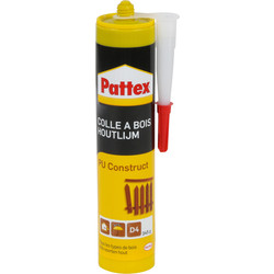 Pattex Colle à bois PU Pattex Construct 310ml - 20232 - de Toolstation