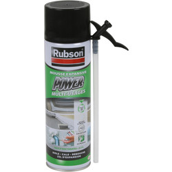 Rubson Mousse expansive Rubson Power 500ml - 21000 - de Toolstation