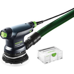 Festool Ponceuse excentrique Festool ETS 125 REQ-Plus 250W - Ø125mm - 22967 - de Toolstation