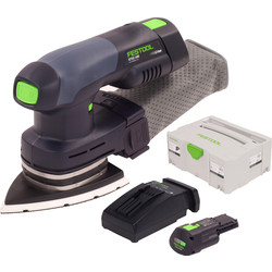Festool Ponceuse delta sans fil Festool DTSC 400 Li 3,1-Plus 18V Li-ion - 25359 - de Toolstation