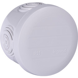 Legrand Boîte de dérivation ronde Legrand Ø60 - P40mm - 25378 - de Toolstation