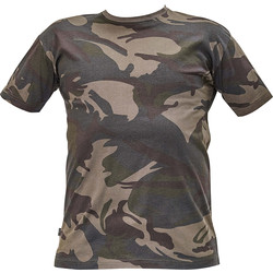 T-shirt camouflage Cerva