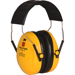 3M Optime casque antibruit 3M PELTOR Jaune 27dB SNR I - 32229 - de Toolstation