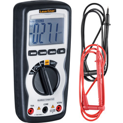 Laserliner Multimètre professionnel Laserliner MultiMeter-Compact  - 33560 - de Toolstation