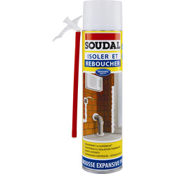 Soudal Mousse expansive Soudal 500ml - 34507 - de Toolstation