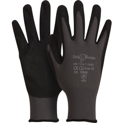 Gants de mousse Nitril 10/XL - 35691 - de Toolstation