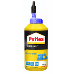 Pattex Colle à bois Pattex Waterproof 750g - 37817 - de Toolstation
