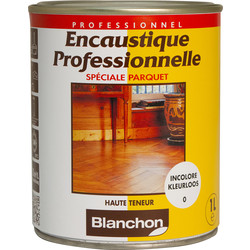 Finition encaustique professionnelle Blanchon