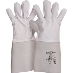 SafeWorker Gants de soudeur cuir 10/XL - 39730 - de Toolstation