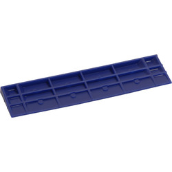 Zwaluw Blocs vitrage 1mm oblique 26x5mm - 40160 - de Toolstation