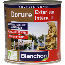 Blanchon Peinture décorative Blanchon Dorure 125ml Or riche - 41091 - de Toolstation