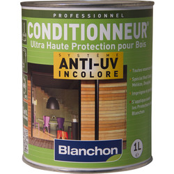 Blanchon Imprégnation conditionneur Blanchon anti-UV 1L - 42072 - de Toolstation