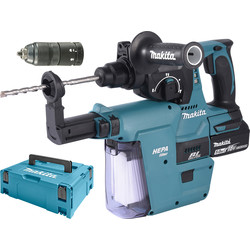 makita Perfo-burineur Makita SDS-Plus DHR243RTJV 18V Li-Ion 5Ah - 42379 - de Toolstation