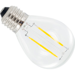 Integral LED Ampoule à filament globe Integral LED E27 2W 250lm 2700K - 45978 - de Toolstation