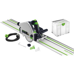 Festool Scie circulaire plongeante Festool TS 55 REBQ PLUS + 1 rail 1200W Ø160mm - 46995 - de Toolstation