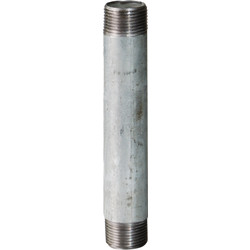 Tube galvanisé 15x21 - 60mm - 47281 - de Toolstation