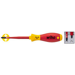 Wiha Tournevis VDE Wiha Slimfix PH2x100mm - 47754 - de Toolstation