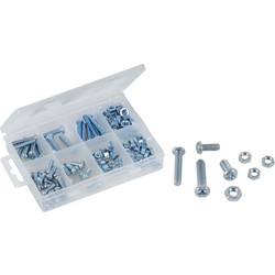 Silverline Coffret de vis et écrous assortis  - 47904 - de Toolstation