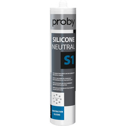 Proby Mastic joint neutre S1 Blanc 280ml - 48443 - de Toolstation