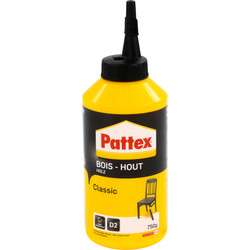 Pattex Colle à bois Pattex Classic 750g - 49694 - de Toolstation