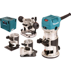 Makita Défonceuse Makita RT0700CX3J 6-8mm - 49893 - de Toolstation