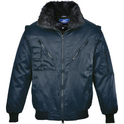 Portwest Blouson aviateur Portwest M bleu marine - 49897 - de Toolstation