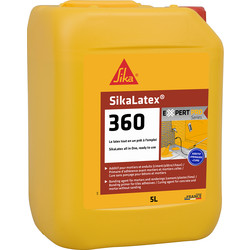 SIKA Résine d'accrochage Sikalatex 360 5L - 50154 - de Toolstation