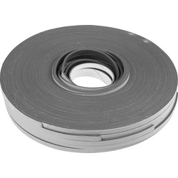 Zwaluw Ruban de vitrage Gris 9/3mm 100m - 50506 - de Toolstation