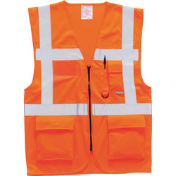 Portwest Gilet Haute visibilité Portwest Berlin XL orange - 50598 - de Toolstation