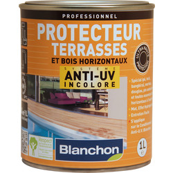 Blanchon Protecteur terrasses Blanchon anti-UV 1L Incolore - 51156 - de Toolstation