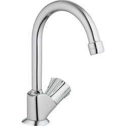 Grohe Robinet lavabo Grohe Costa Chromé brillant - 52205 - de Toolstation