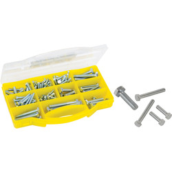 Coffret de vis 6 pans assorties  - 52478 - de Toolstation