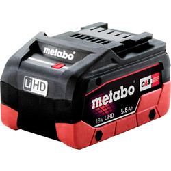 Metabo Batterie Metabo 18V 5,5Ah  Li-HD - 52757 - de Toolstation