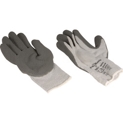 Gants thermo latex gris