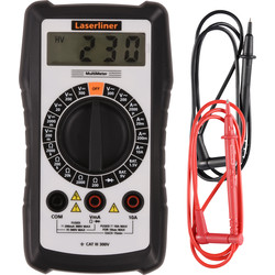 Laserliner Multimètre universel compact Laserliner MultiMeter  - 55411 - de Toolstation