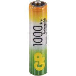 GP Piles rechargeables GP AAA 1000mAh - 56225 - de Toolstation