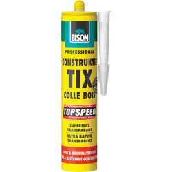 Bison Colle à bois Bison polyurethane Topspeed 310ml - 59756 - de Toolstation