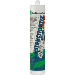 Zwaluw Mastic polyuréthane rapide ConstructionTix 310ml transparent - 61441 - de Toolstation