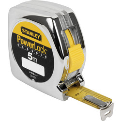 Stanley Mètre à ruban Stanley PowerLock 5m - 19mm - 61844 - de Toolstation